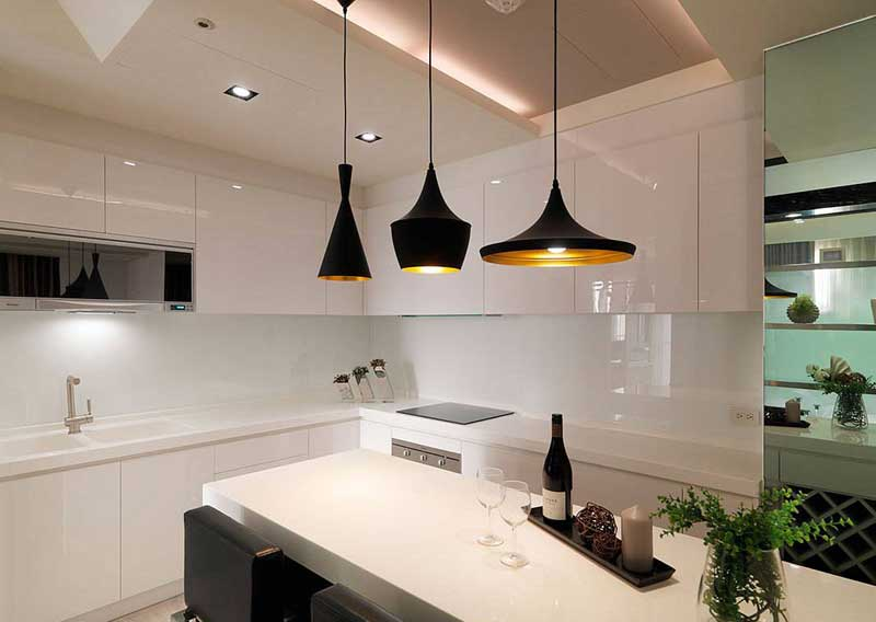 现代简约风格一居室50平米效果图