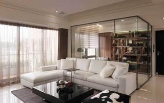 欧式清新客厅设计效果图