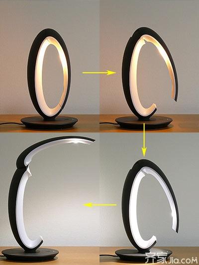 这样的壁灯突破常规灯具设计形式,加入诸多时尚元素,非常漂亮.