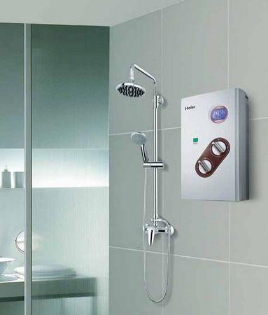 即热式电热水器安装图片