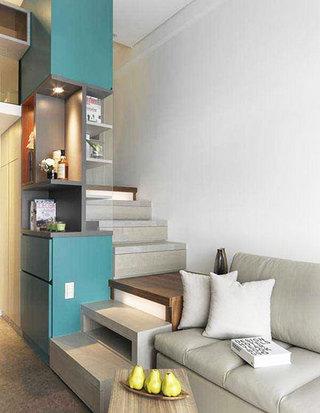 收纳型楼梯设计