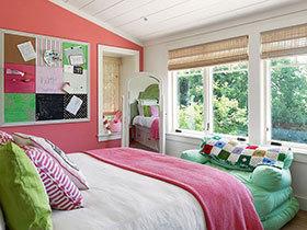 11个可爱阁楼小卧室 享受阁楼上的时光