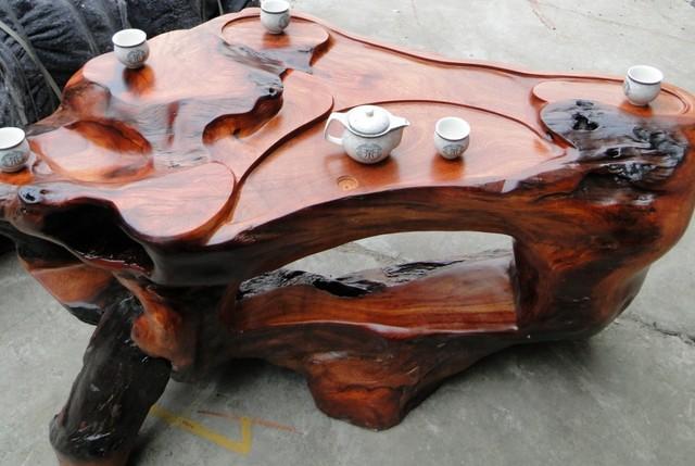 根雕茶桌尺寸 最具收藏价值的艺术瑰宝