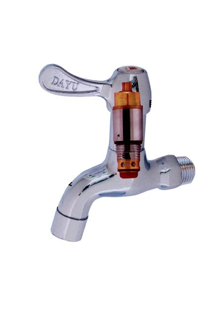 節水水龍頭 內件剖析與運作介紹