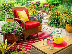 16个露台花园设计 偷得浮生半日闲