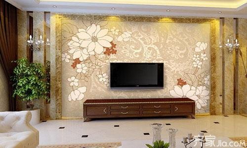 2015客厅电视背景墙装修效果图