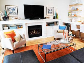 小客厅电视背景墙 13图经典设计