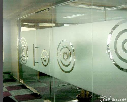 磨砂玻璃贴膜的作用
