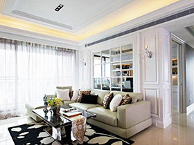 132平欧式公寓 优雅空间设计