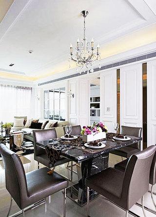 132平米公寓餐厅空间