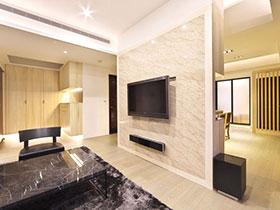 12款大理石装修客厅电视背景墙 美观时尚