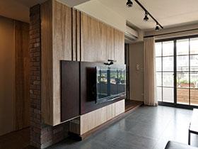 11个木质电视背景墙 自然环保美家居