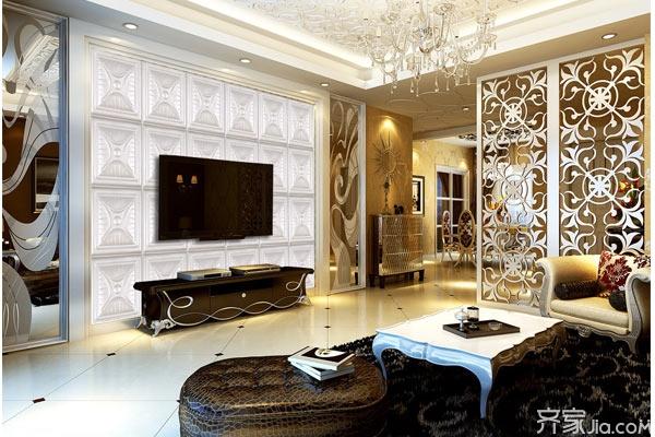 皮雕电视背景墙 电视背景墙设计三原则