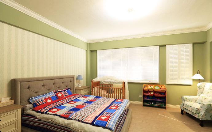 美式新古典卧室设计