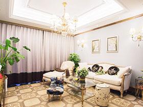 浪漫法式新古典 温柔的设计浪漫的家