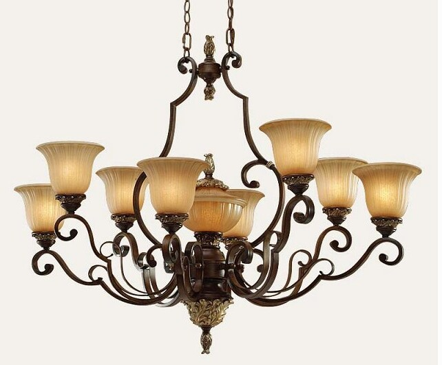 美式吊灯的特点有哪些?图片
