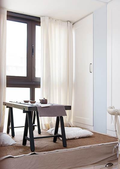 100平米法式装修风格飘窗设计