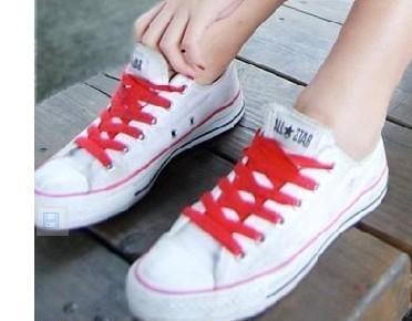 帆布鞋鞋带的系法图解 这几种你都不会吧图片