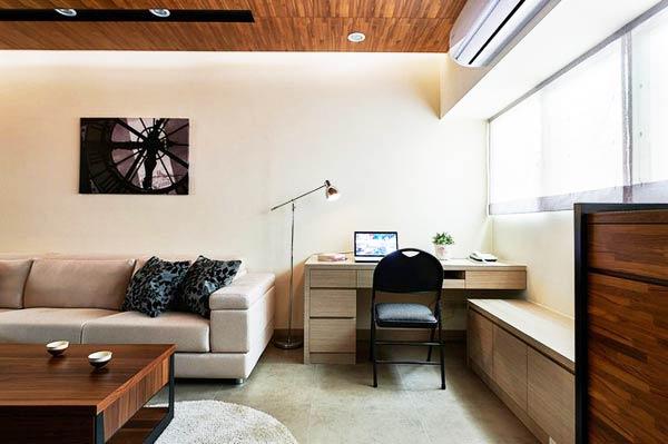 小户型室内装修飘窗设计