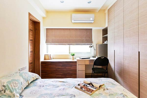 小户型室内装修卧室设计图片