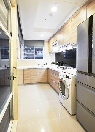 现代简约风两室一厅厨房设计