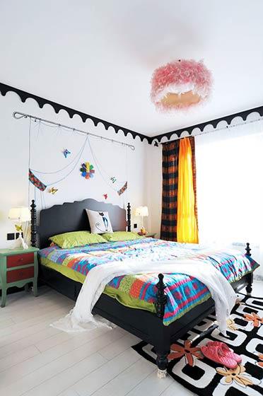 120平米田园装修风格卧室设计