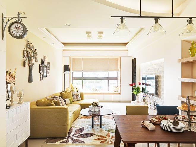 90平米小户型家客厅设计1/11