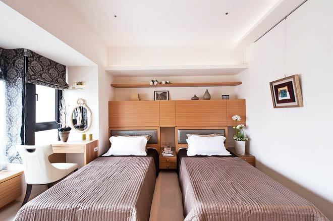 198平米新古典家卧室设计