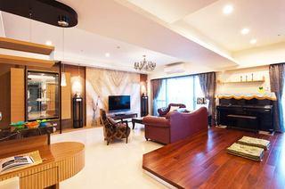 198平米新古典家客厅设计