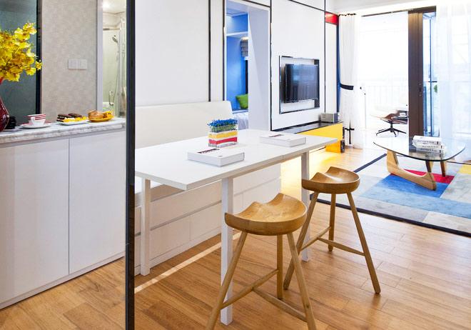 103平米装修效果图餐厅设计