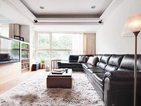 简约风格装修效果图 83平两居时尚公寓