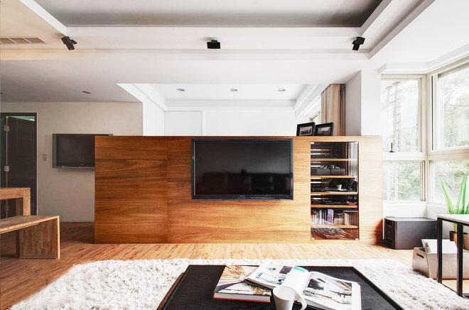 简约风格装修效果图电视背景墙设计