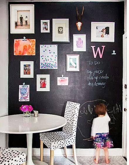 个性照片墙给你家居装饰新选择