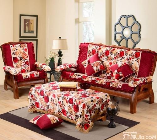 实木沙发坐垫 体验全新视觉与舒适享受图片