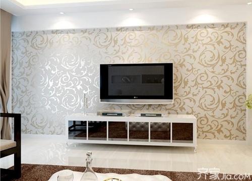 电视背景墙纸装修效果图欣赏