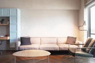 83平米小户型温馨雅居客厅设计