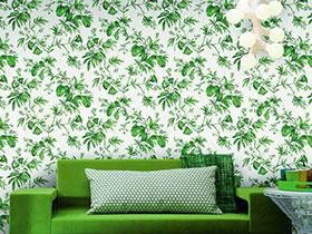 壁纸青春派 11个活力客厅壁纸设计