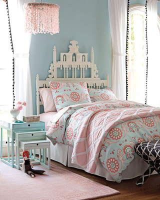淡雅蓝色卧室装修
