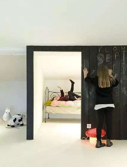 儿童房黑板墙开发孩子潜力儿童房黑板墙开发孩子潜力
