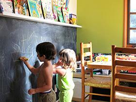 开发儿童潜力 10个儿童房黑板墙设计