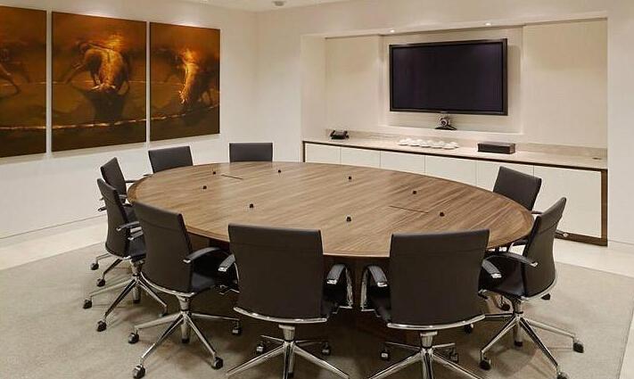 个性会议室布置效果图