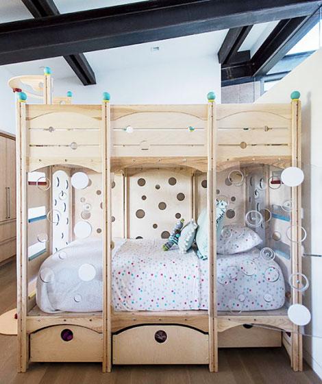 简约别墅装修效果图儿童房设计