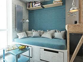 50平米简约小户型 绝佳实用空间设计