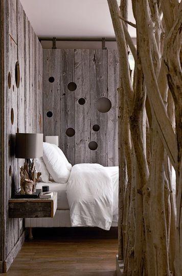 木板墙秋天卧室设计