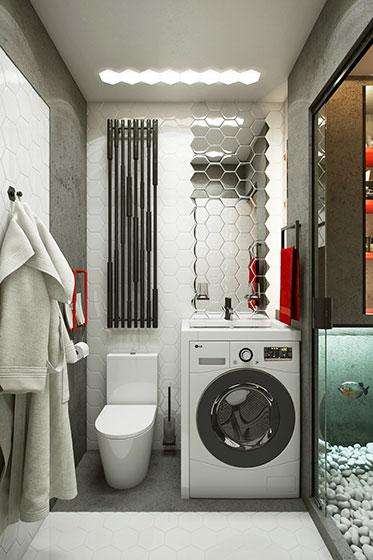 20平米超小户型卫生间设计