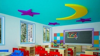 现代幼儿园教室布置图片