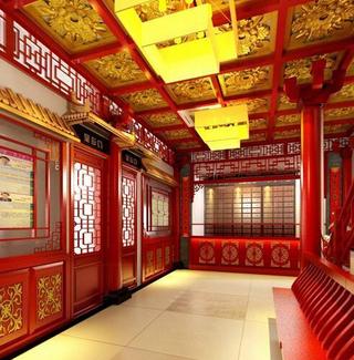 中式医院装修效果图