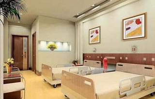 医院标准病房装修效果图