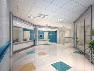 现代医院护士站装修图片
