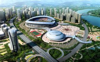 体育馆建筑设计效果图